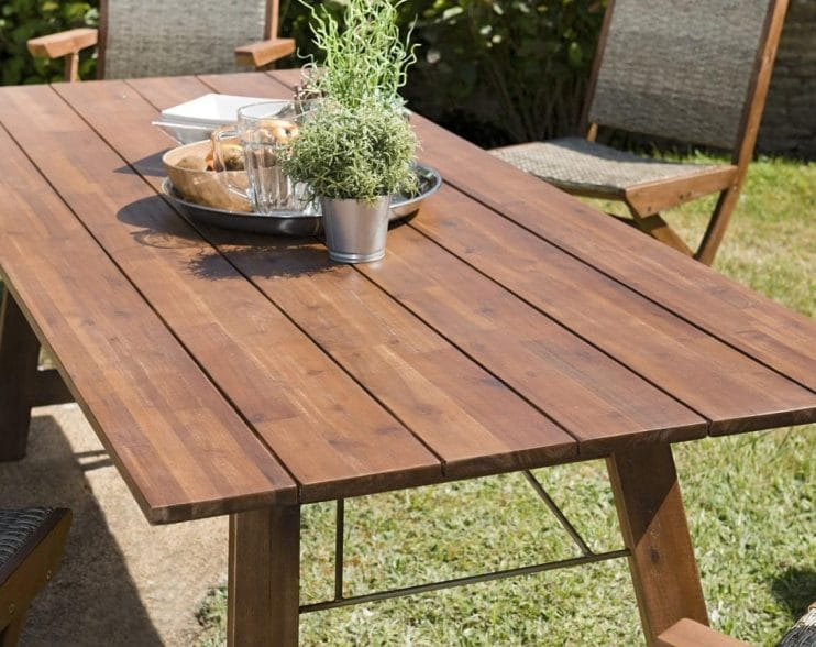 table pliante rectangulaire
